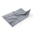 MEGA Clean Mikrofaser Filigranes Gläsertuch Grau