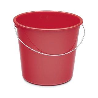 Haushaltseimer 10 L rot