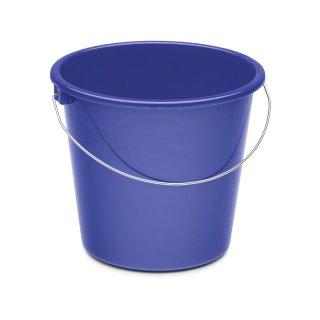 Haushaltseimer 5 L blau